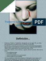Trastorno Límite (boderline) de la personalidad