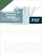 Procesos de Integración de SistemasBIMBO