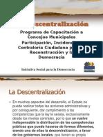 La Descentralización