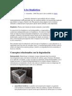 Terminología de los bioplásticos