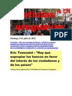 Noticias Uruguayas Domingo 8 de Julio Del 2012-2