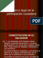 Marco Legal de la Participación Ciudadana