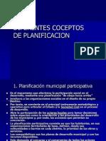 Diferentes Conceptos de Planificación