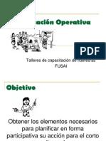 Planificación Operativa