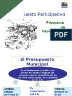 El Presupuesto Municipal Participativo