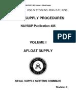 NAVSUP P-485 Vol I