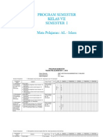 Program Semester 2011-2012 New
