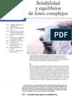 Cap 19 Solubilidad y Equilibrios de Iones Complejos