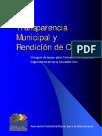 Transparencia Municipal y Rendición de Cuentas