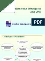 Lineamientos Estratégicos ISD 2005 2009