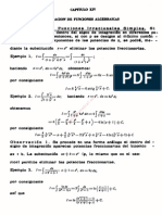 Cap 14 Integracion de Funciones Algebraicas