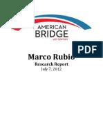 American Bridge Rubio Book