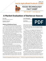 a market evaluation of barbecue sauces