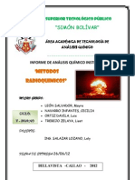 Ultimo Metodos Radioquimicos