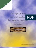 TS Epic Level Handbook