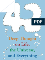 42 Deep Thought on Life, The Universe, And Everything