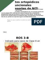 Aparatos ortopédicos funcionales