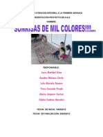 Proyecto Sonrrisas de Milcolores