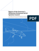 Report of the Governor's Oklahoma Unmanned Aerial Systems Council 2012