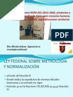 Norma Oficial Mexicana NOM-201-SSA1-2002, Productos y Servicios