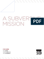 Acts Part 21 - the Subversive Mission