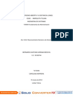 100500 Fundamentos de Administracion Bernardo Arenas