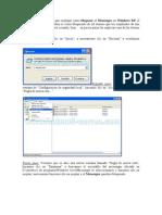 cómo bloquear el Messenger en Windows XP