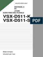 Vsx-d511-k Manual Fr It
