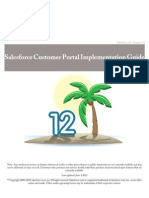 Salesforce Customer Portal Implementation Guide