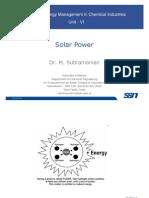 Lecture 12 SolarPower