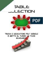Poker Table Selection Ita
