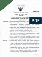 Perwal No 19 Tahun 2012 - PPDB 2012