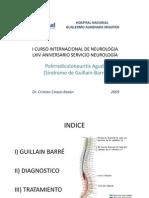 Poliradiculoneuritis Aguda (Síndrome de Guillain Barré)