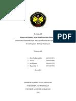 MAKALAH3 Konservasi SDA Hayati Dan Ekosistemnya