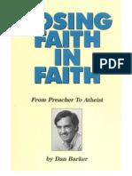 Perder La Fe en La Fe, De Predicador a Ateo - Dan Barker
