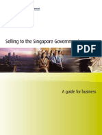 Selling to the Singapore Govt