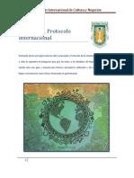 Protocolo internacional de etiqueta.