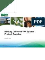 McQuay VAV System Sales Training