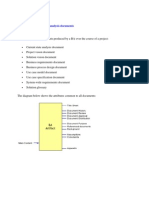 Structure of Business Analysis Documents