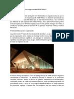 Plan de organización de feria industrial de SONY México