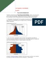 Medidas de freqüência ligadas a mortalidade