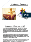 Ethics in Marketing Research