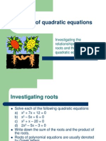 Roots of Quadratic Equations1 (1)
