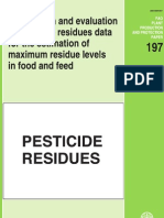 Pesticide Residues