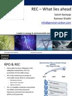 REC & RPO Update - April 2012 - General Carbon