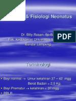 Anatomi & Fisiologi Neonatus