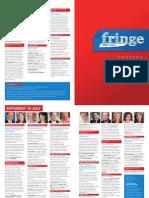 2012 Fringe Program