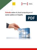 Estudio sobre cloud computing en el sector público en España
