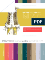 PANTONE NY Fashion Color Report FALL 2011 Edited