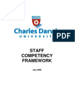Staff Competency Framework